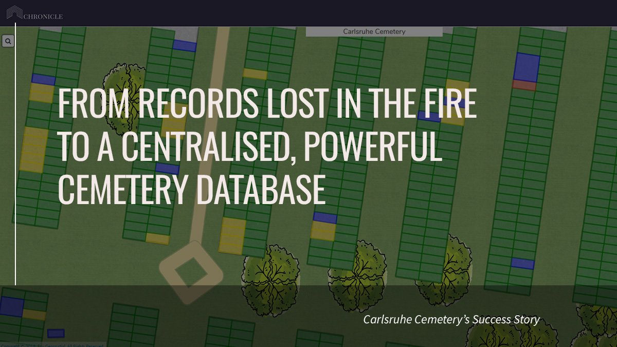 Carlsruhe Cemetery Success: From Records Lost in the Fire | Cemetery Software | Chronicle
