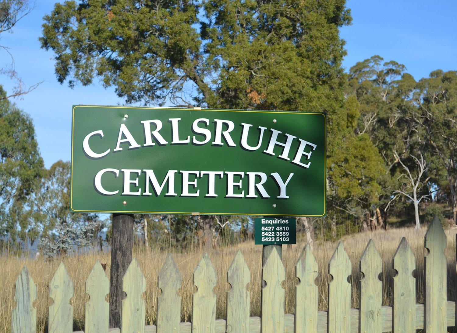 Carlsruhe Cemetery Success: From Records Lost in the Fire | Cemetery Software 1 | Chronicle