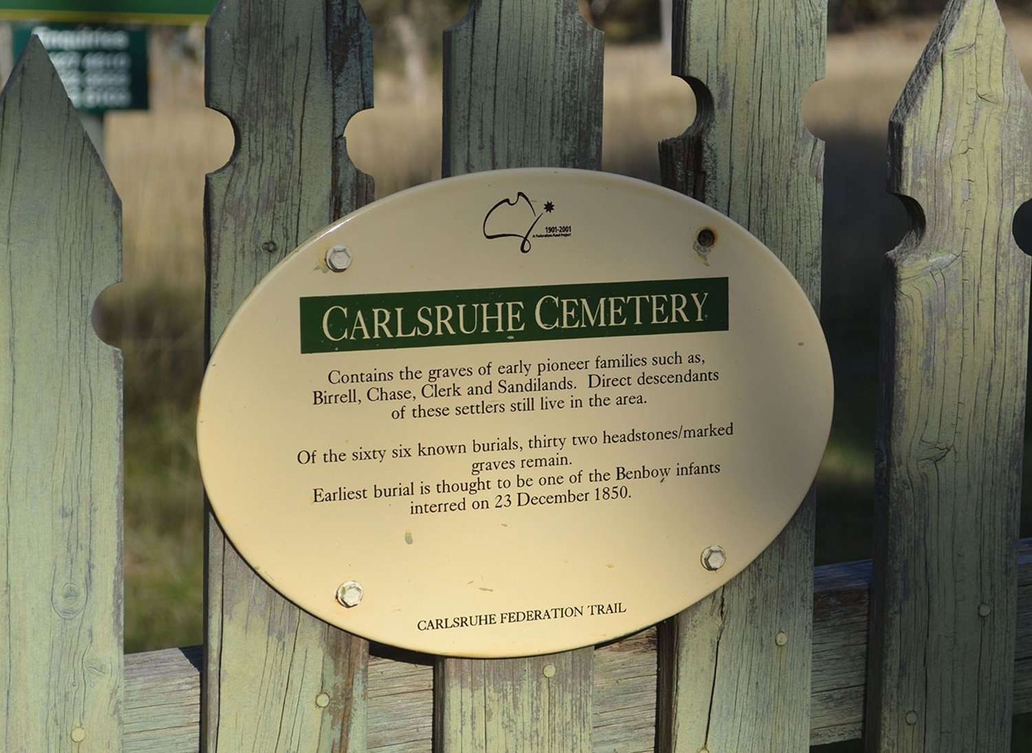 Carlsruhe Cemetery | cemetery management software by Chronicle | Chronicle
