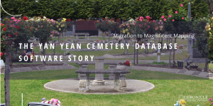 cemetery mapping software | yan yean cemetery | chronicle