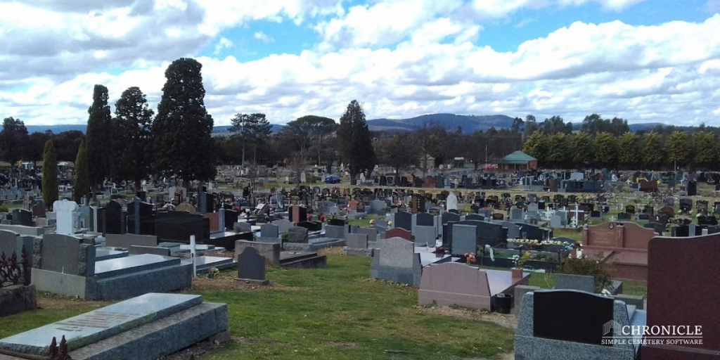digital cemetery mapping software | yan yean cemetery | chronicle