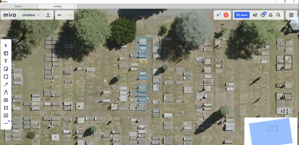 free template to lay out cemetery plot | miro | chronicle